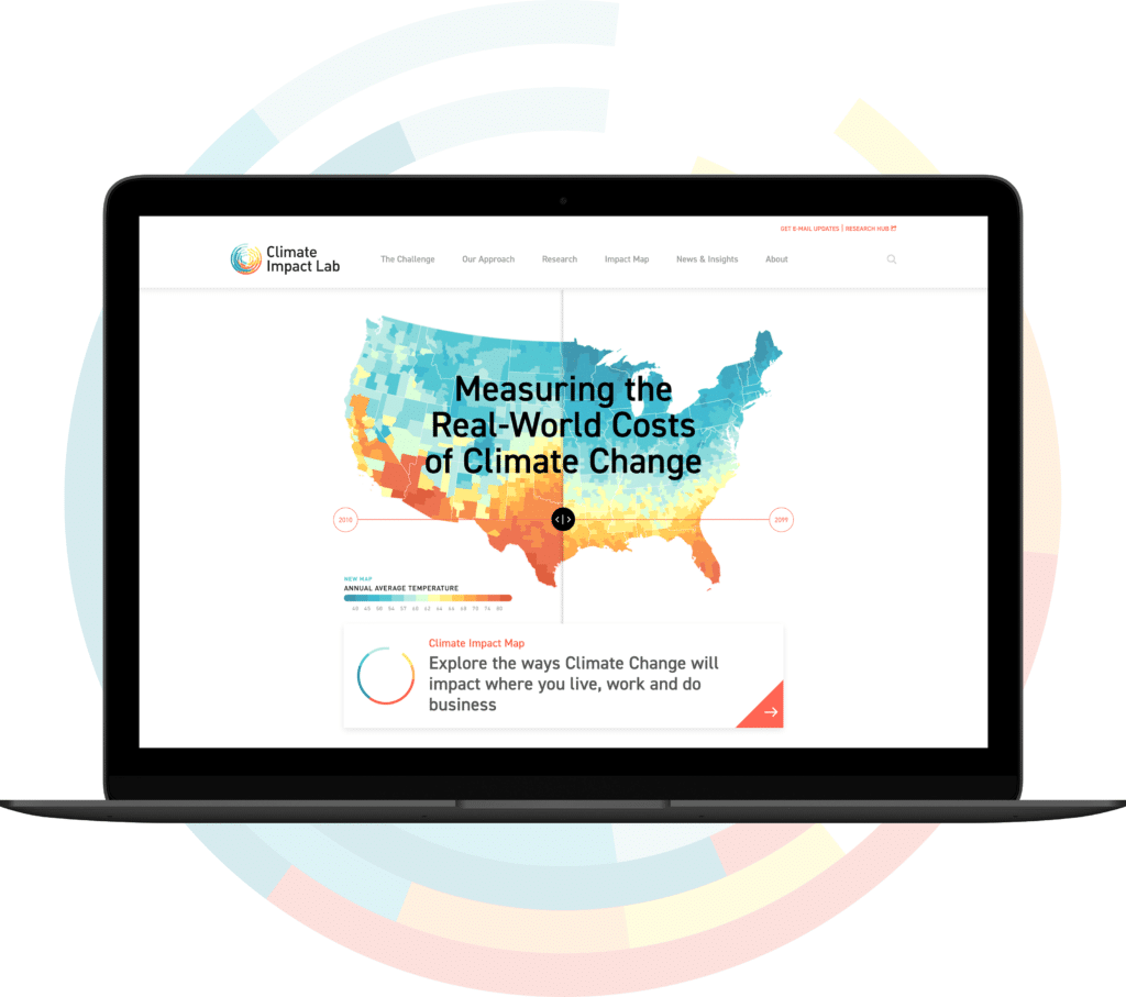 Climate Impact Website Map Launch
