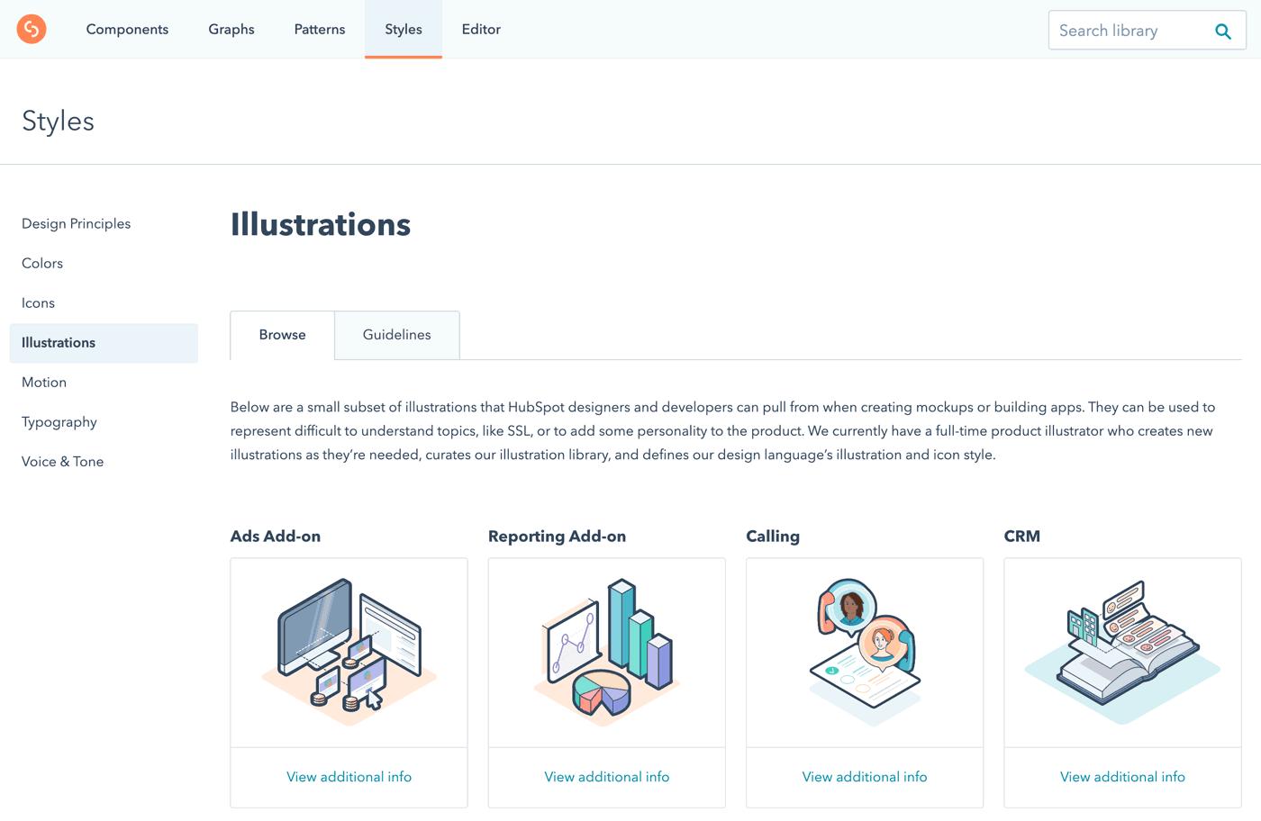 hubspot brand illustration guide